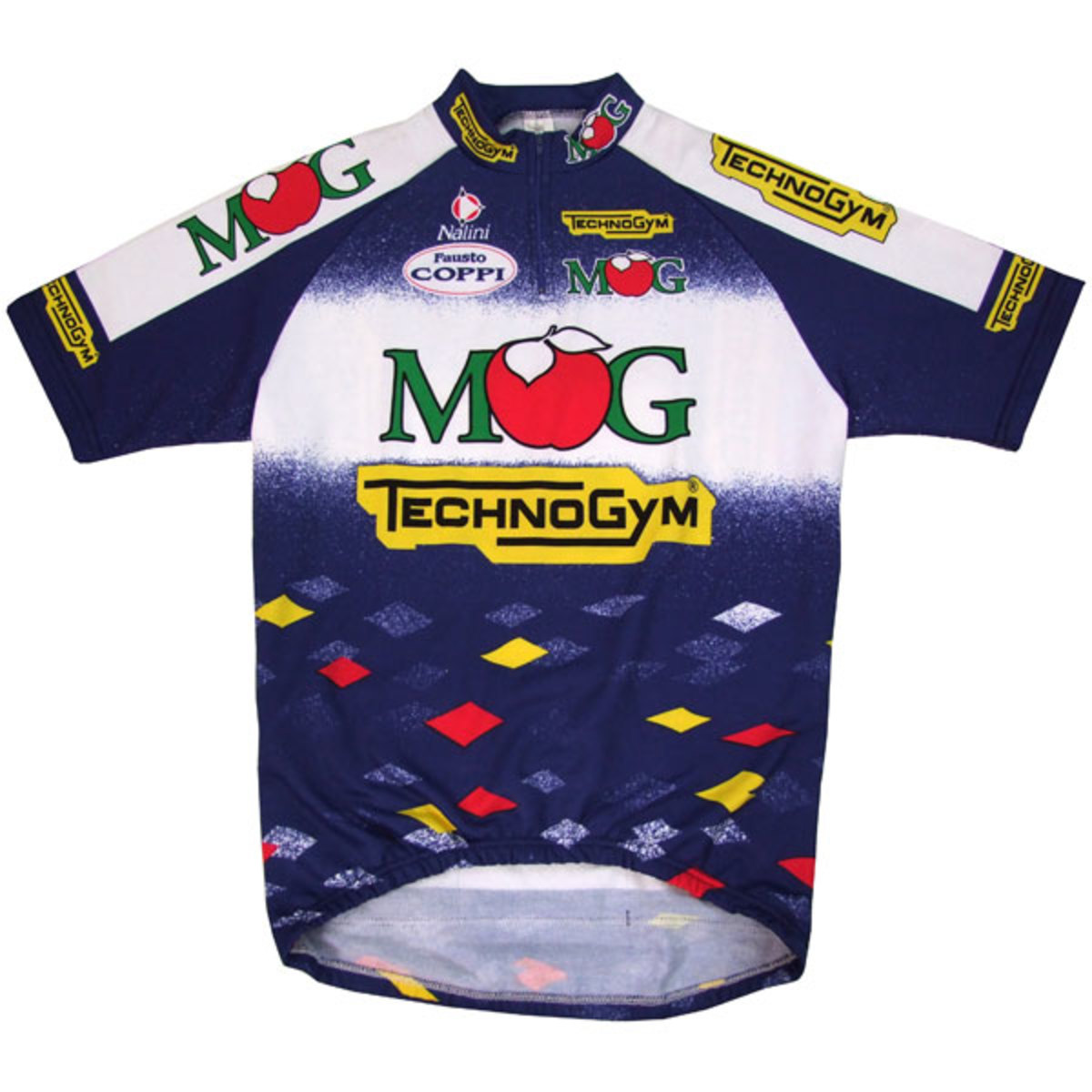 The Iconic MG Technogym team of 1996 featured such greats as Giani Bugno and Michele Bartoli