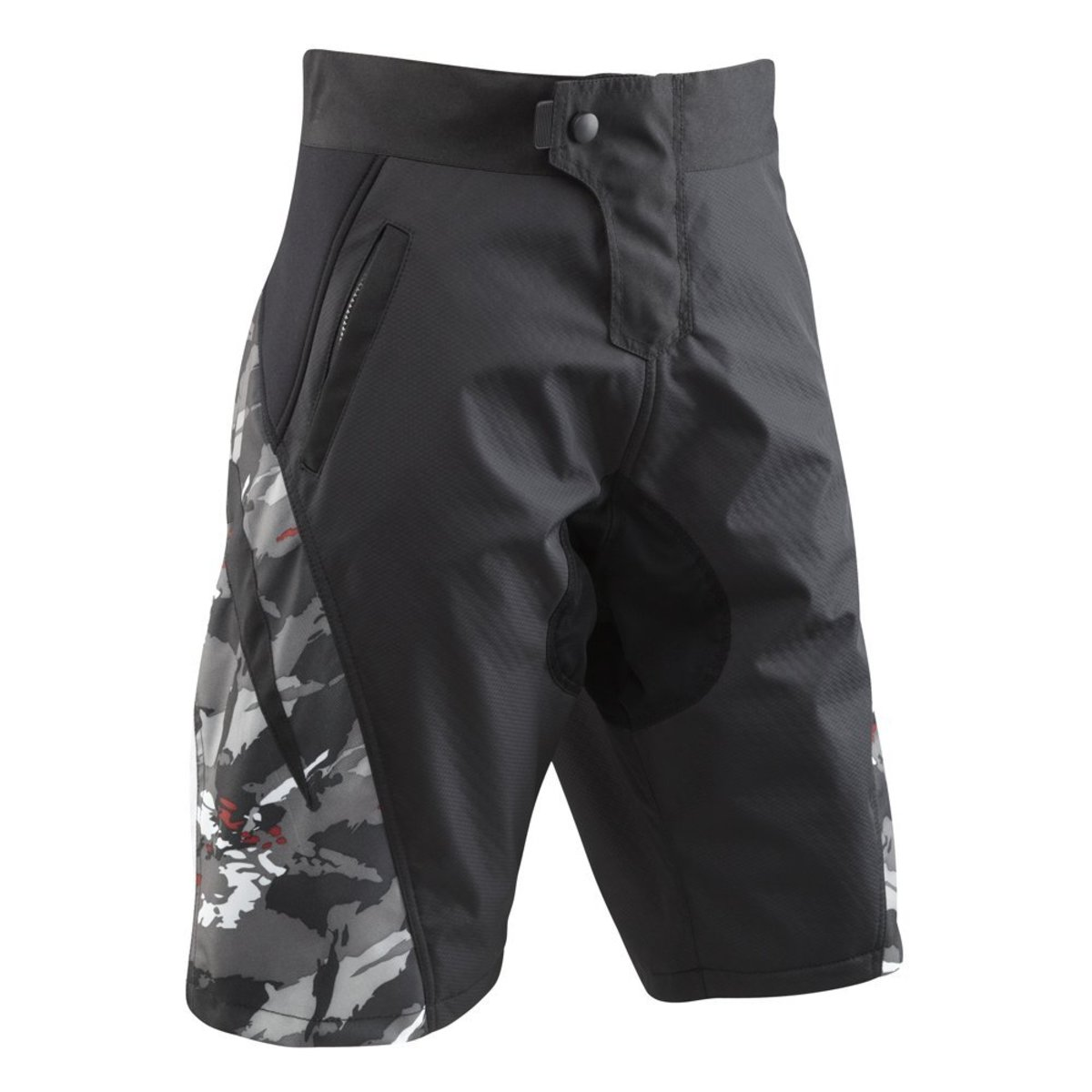 These Burn shorrts from Tenn offer a relaxed outer short with a specialist cycling related padded liner short for comfort without feeling self-concious.