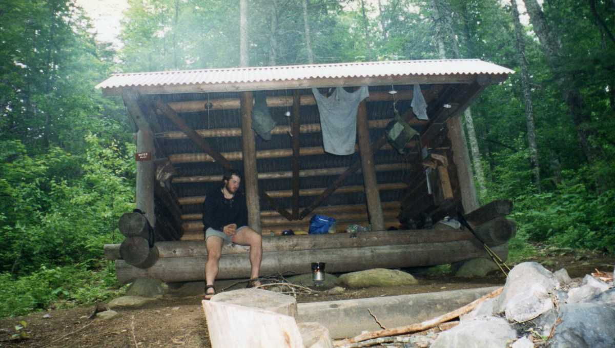 Each shelter along the Appalachian Trail has a register in it to communicate with fellow hikers.
