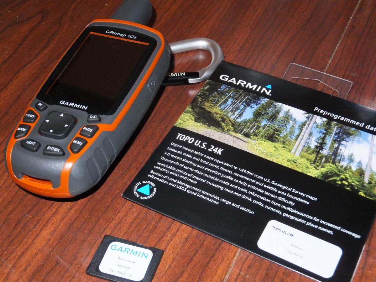 Garmin GPSMap 62s with Topo24K.