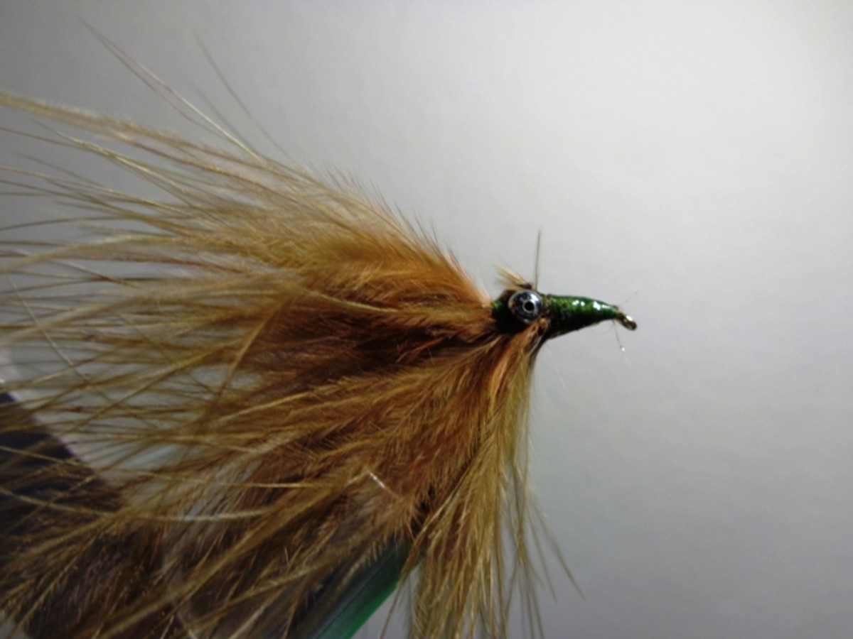 Completed Damsel Fly - hook bend down