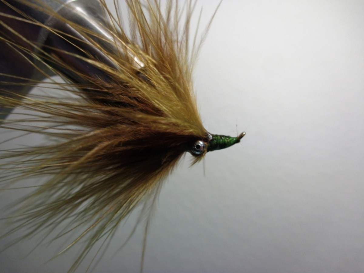 Completed Damsel Fly - hook bend up