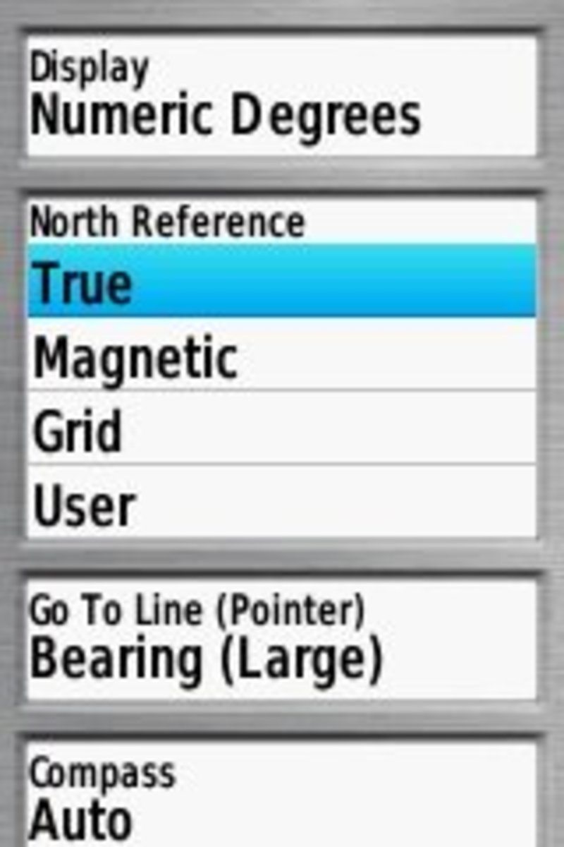 It is easy to choose which north reference you want with a GPS, but there are limitations as well.