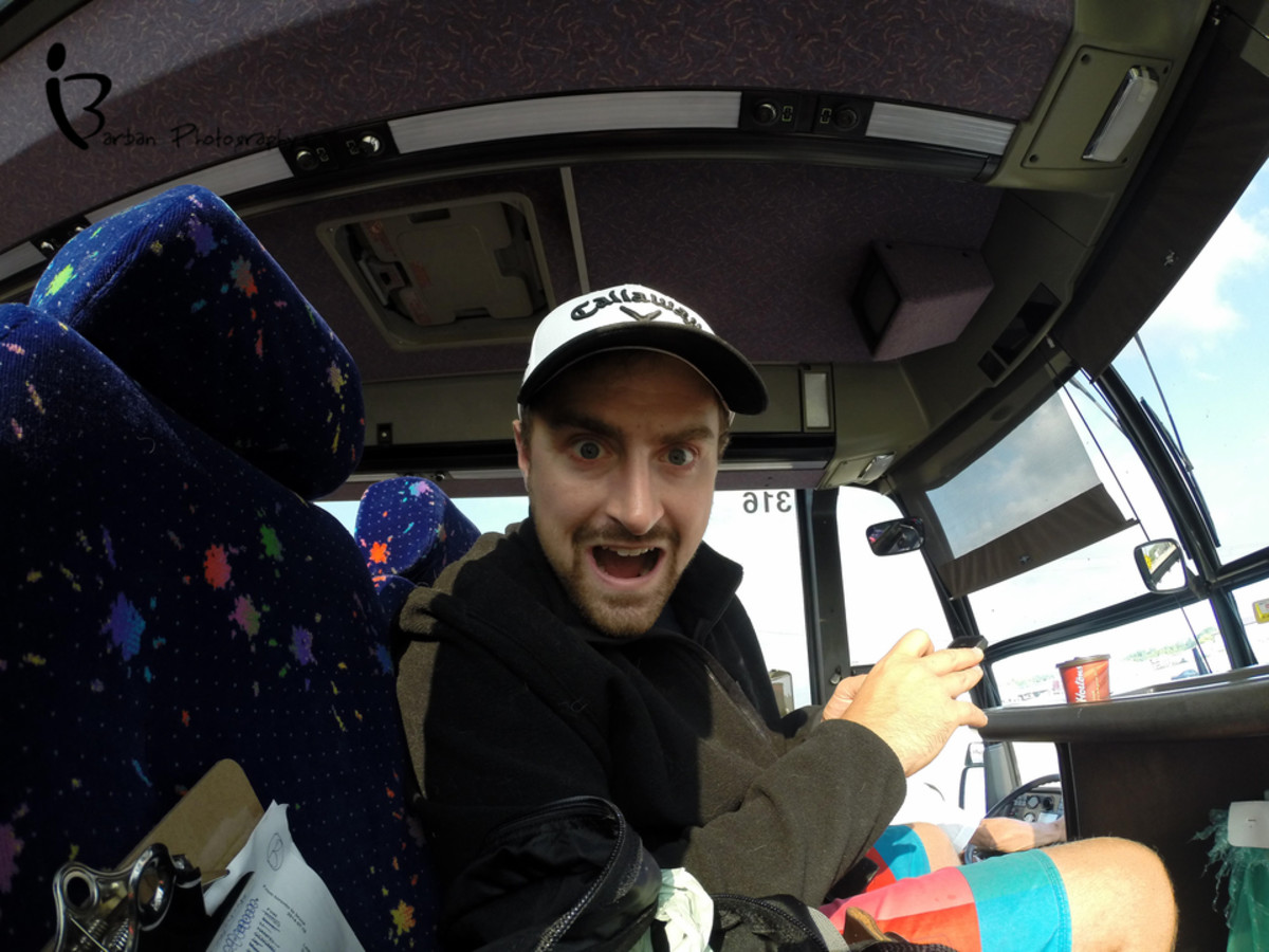 Riding ParkBus from Toronto