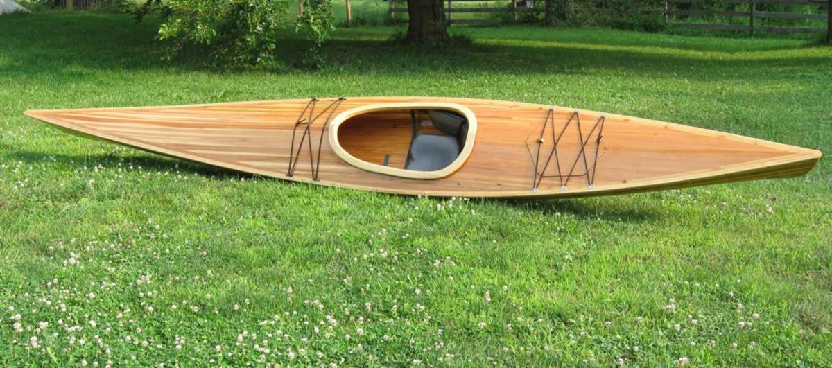 Building a Cedar-Strip Kayak: The Basics   SkyAboveUs