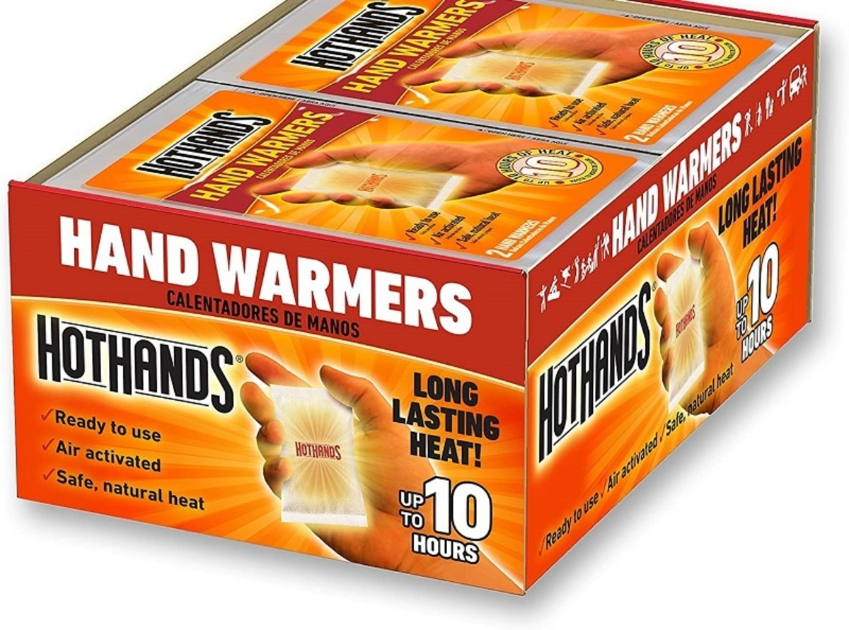Hot Hands are the best selling brand of hand warmers in the US.
