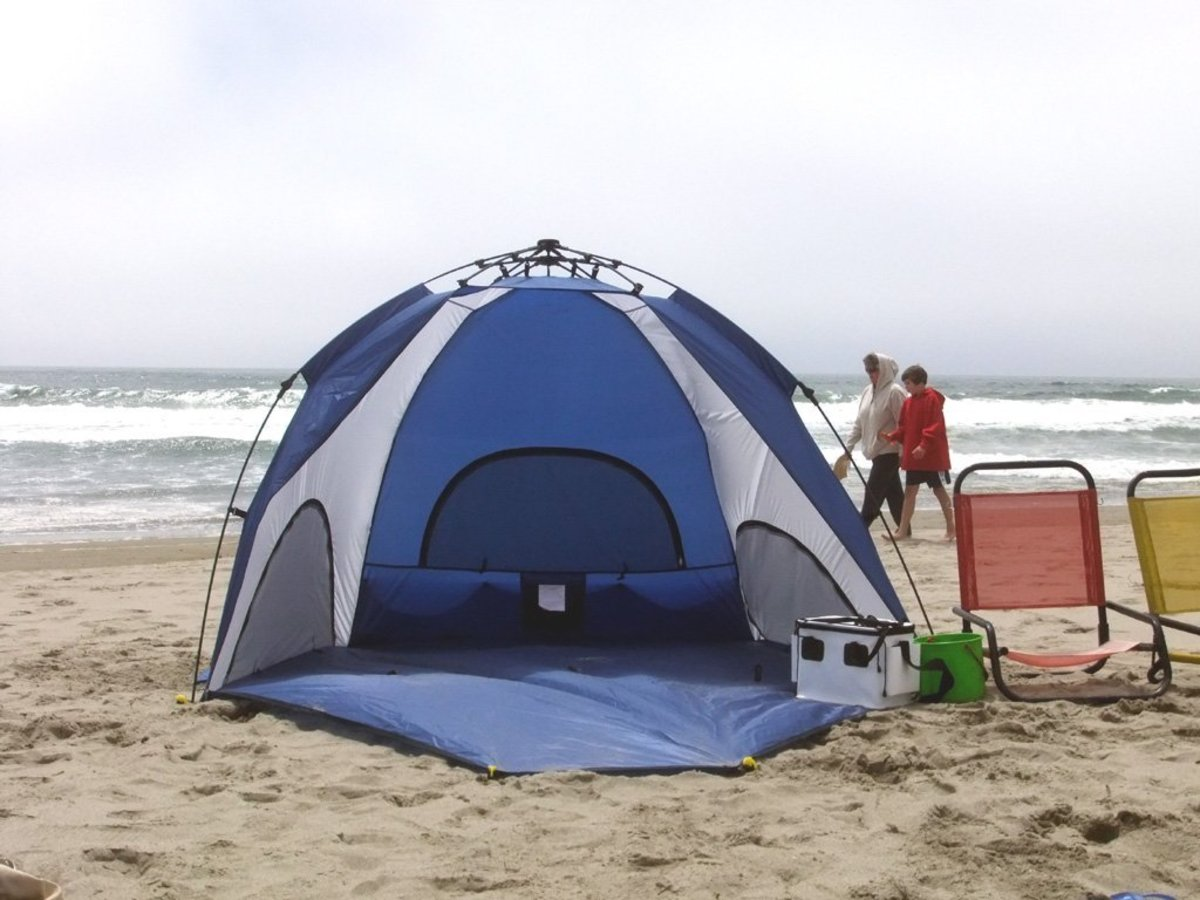 Best Beach Shelter : What are the best beach tents reviews of pop up summer