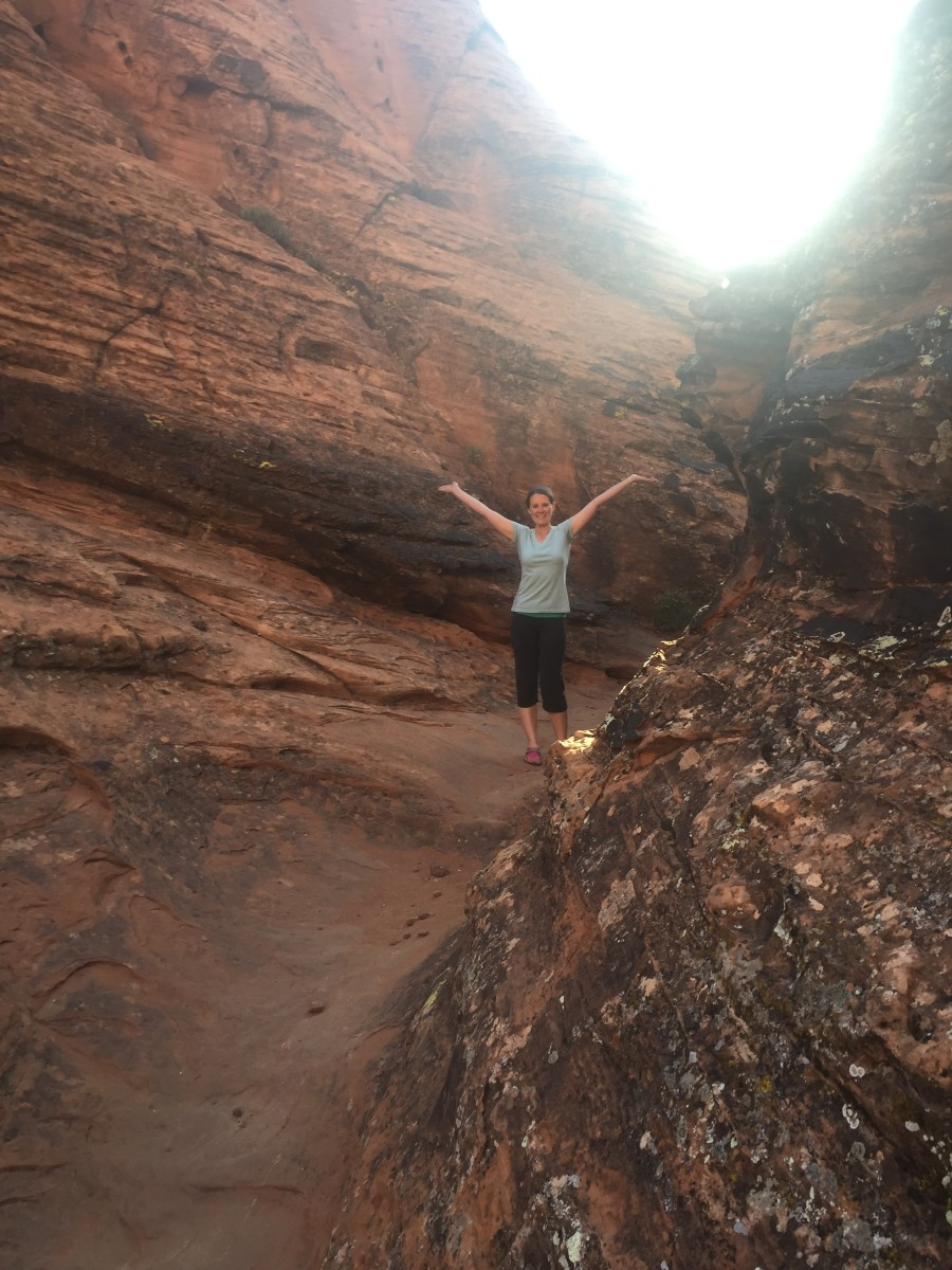 Hidden Pinyon Trail in Snow Canyon