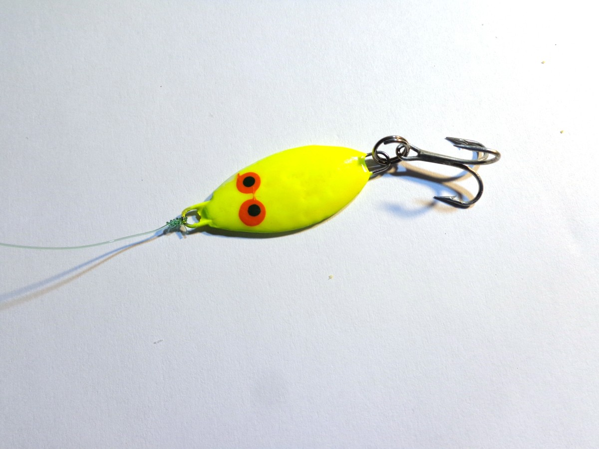 Chartreuse Slab tied on to the Main Line