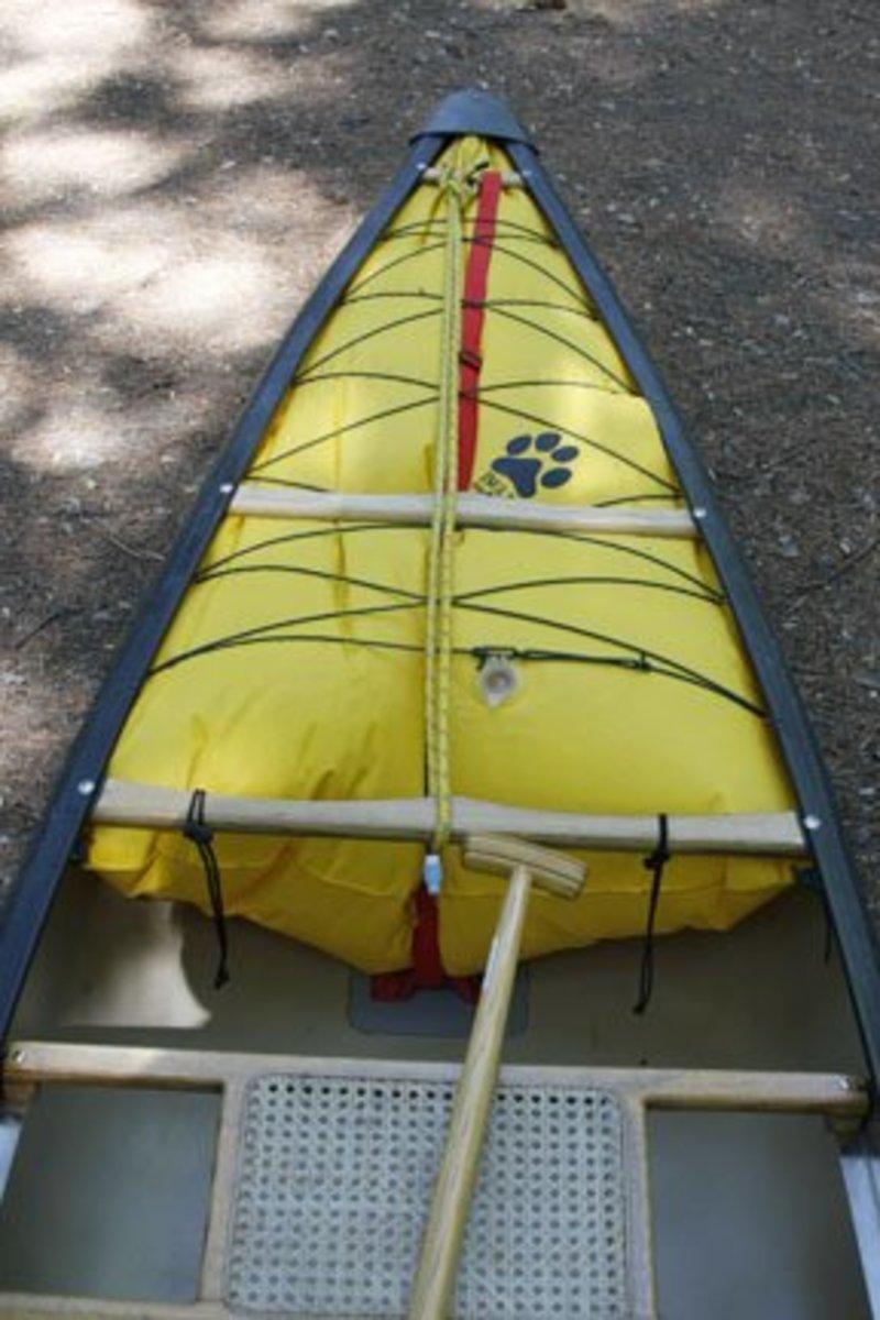 An inflatable flotation chamber.