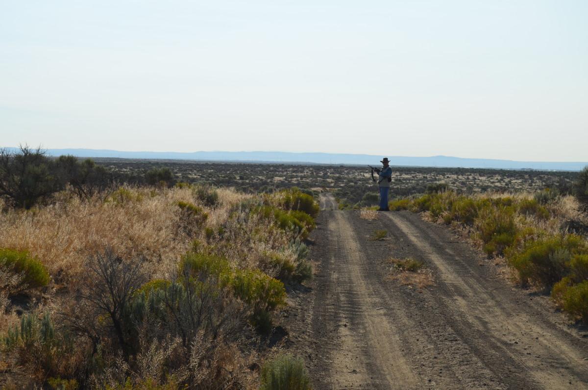 Bureau of Land Management acreage - Christmas Valley, Oregon
