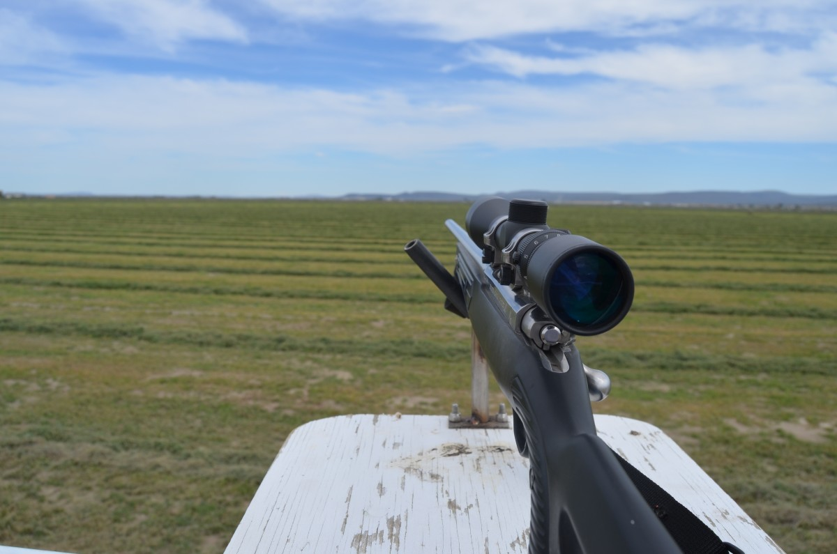 Firing from an elevated platform is a benefit I've seldom enjoyed but greatly appreciated.