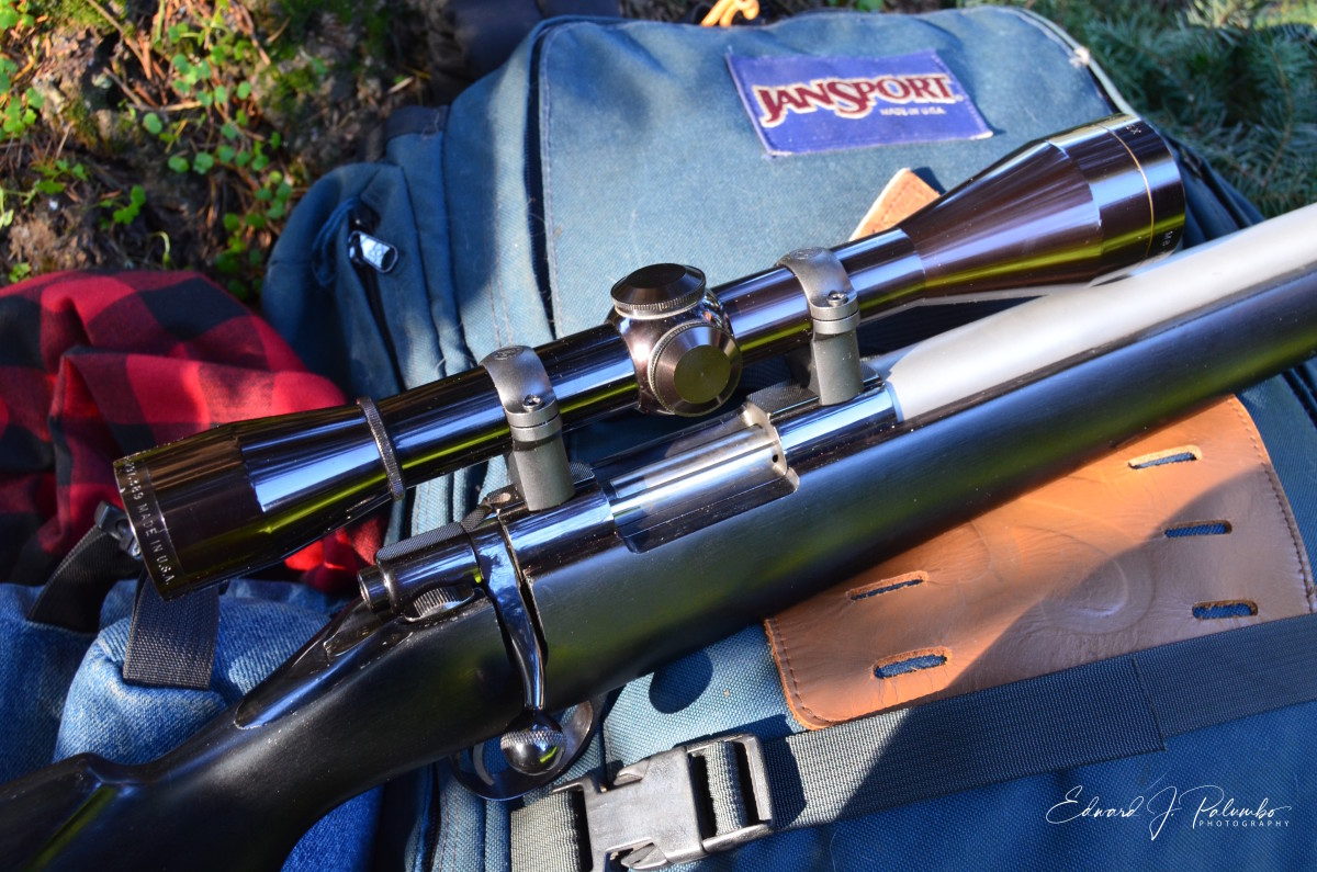 """Sako L461 """"Vixen"""" rifle with Shilen barrel chambered for .222 Remington, topped with a Leupold 7.5X scope (discontinued), purchased in 1970."""