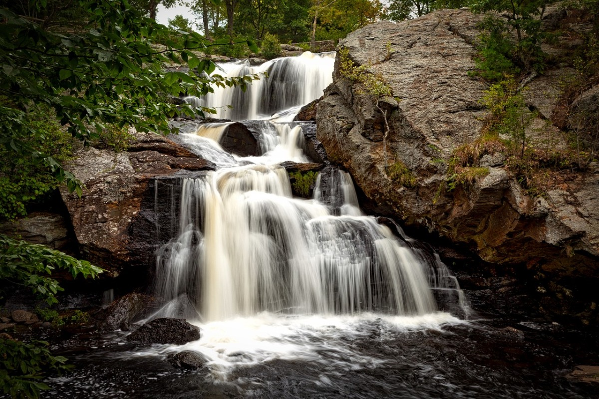 Even a lovely waterfall like this can be a host to contamination. Purifying water before consumption can save your life.