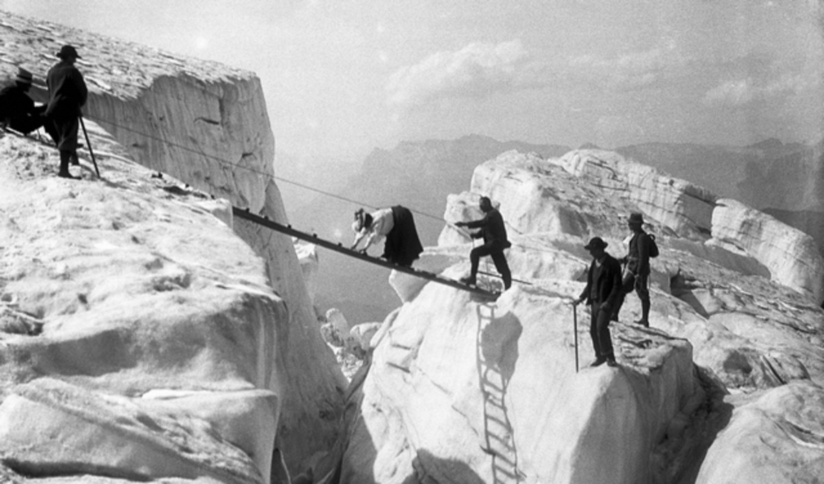 Victorian mountaineering led to the development of rock climbing as a sport in Europe.