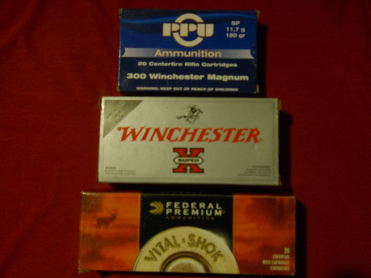 A Selection of Standard and Premium Ammunition