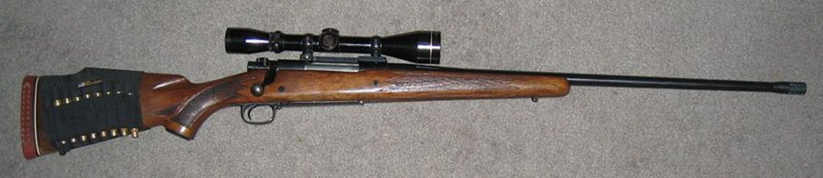 Winchester Model 70 Bolt-Action Rifle