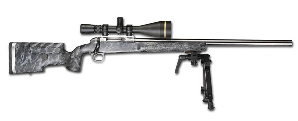 A Target-Style, Long Range Rifle Is A Good Choice For Montana's Prairie