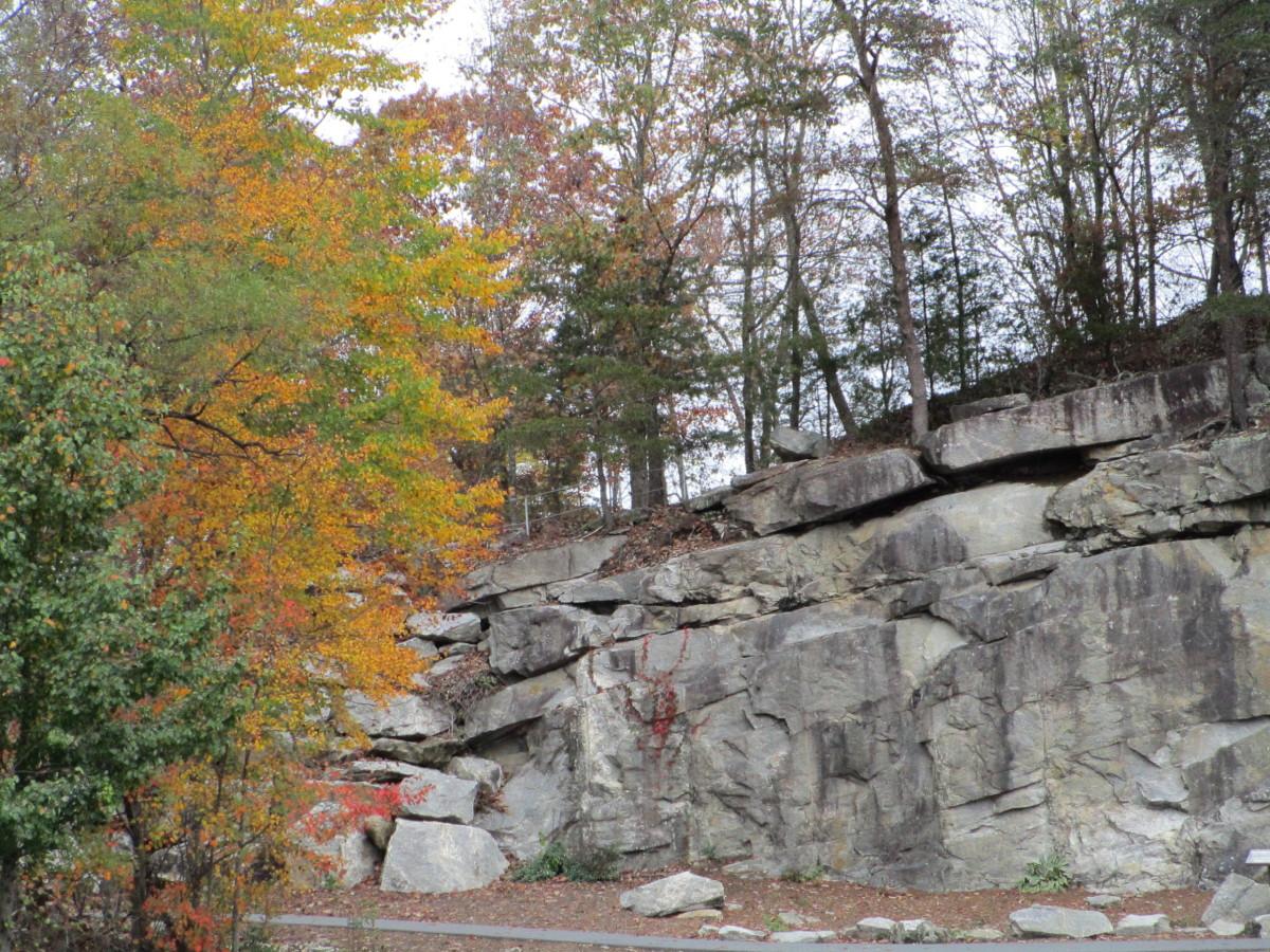 Rocky Face Mountain Recreational Area Hiddenite North