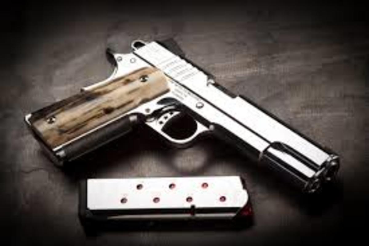 A very fine example of a modern 1911 pistol