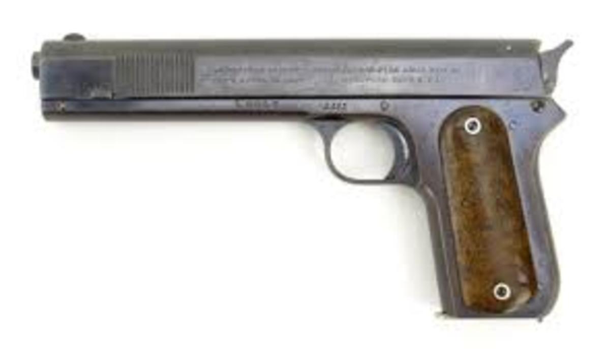 The Colt M1900.