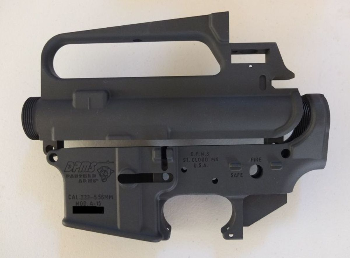 DPMS upper and lower receiver