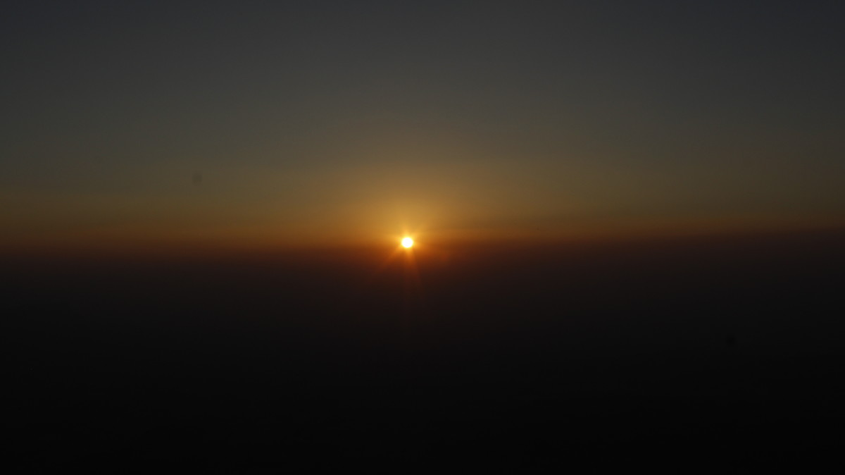 Sunset from Konkan Kada (Konkan cliff)