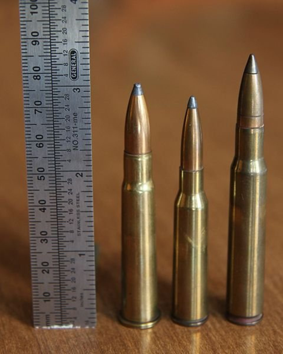 (L-R): .303 British, 6.5x50 Arisaka, .30-06