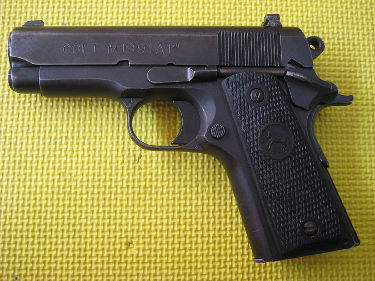 A good EDC gun, the classic Colt Officers ACP.  Also makes a good backup companion paired with a full-sized M1911.
