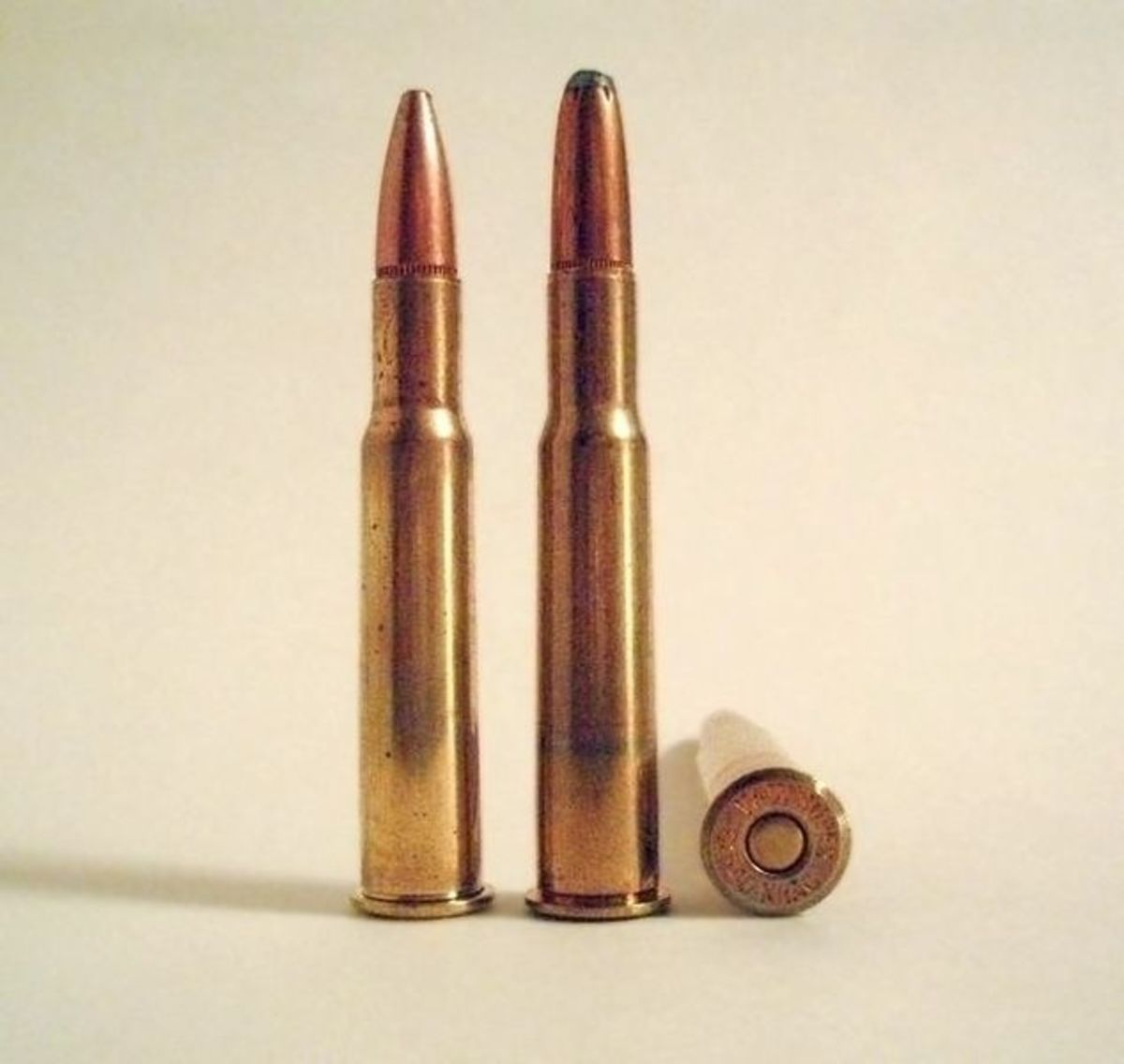 .30-40 Krag.  The .30-03 and then .30-06 replaced the .30-40 as the U.S. service cartridge.