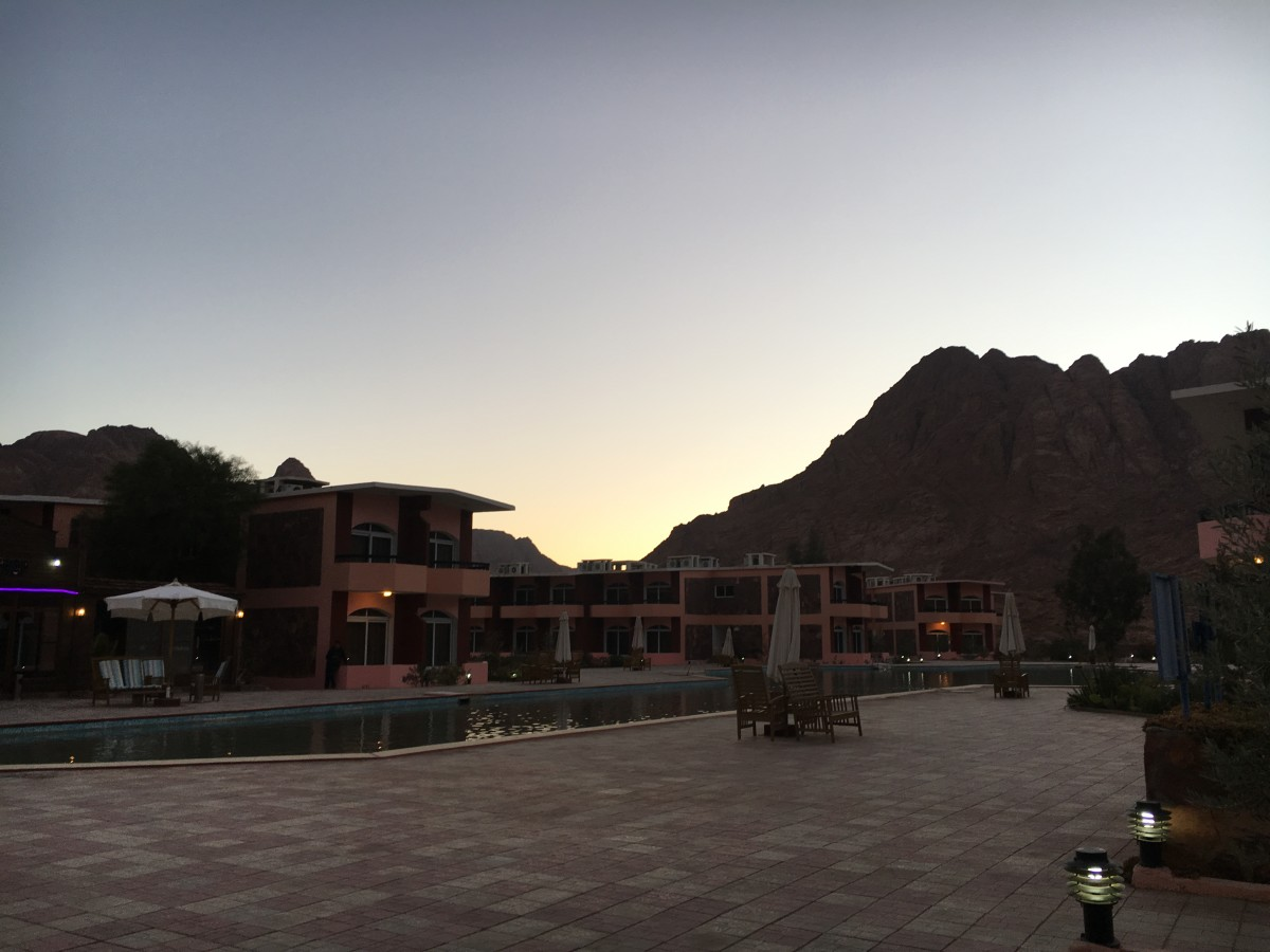 Morgenland Village Hotel (15 minutes drive to the start of our ascent up Mount Sinai Egypt)
