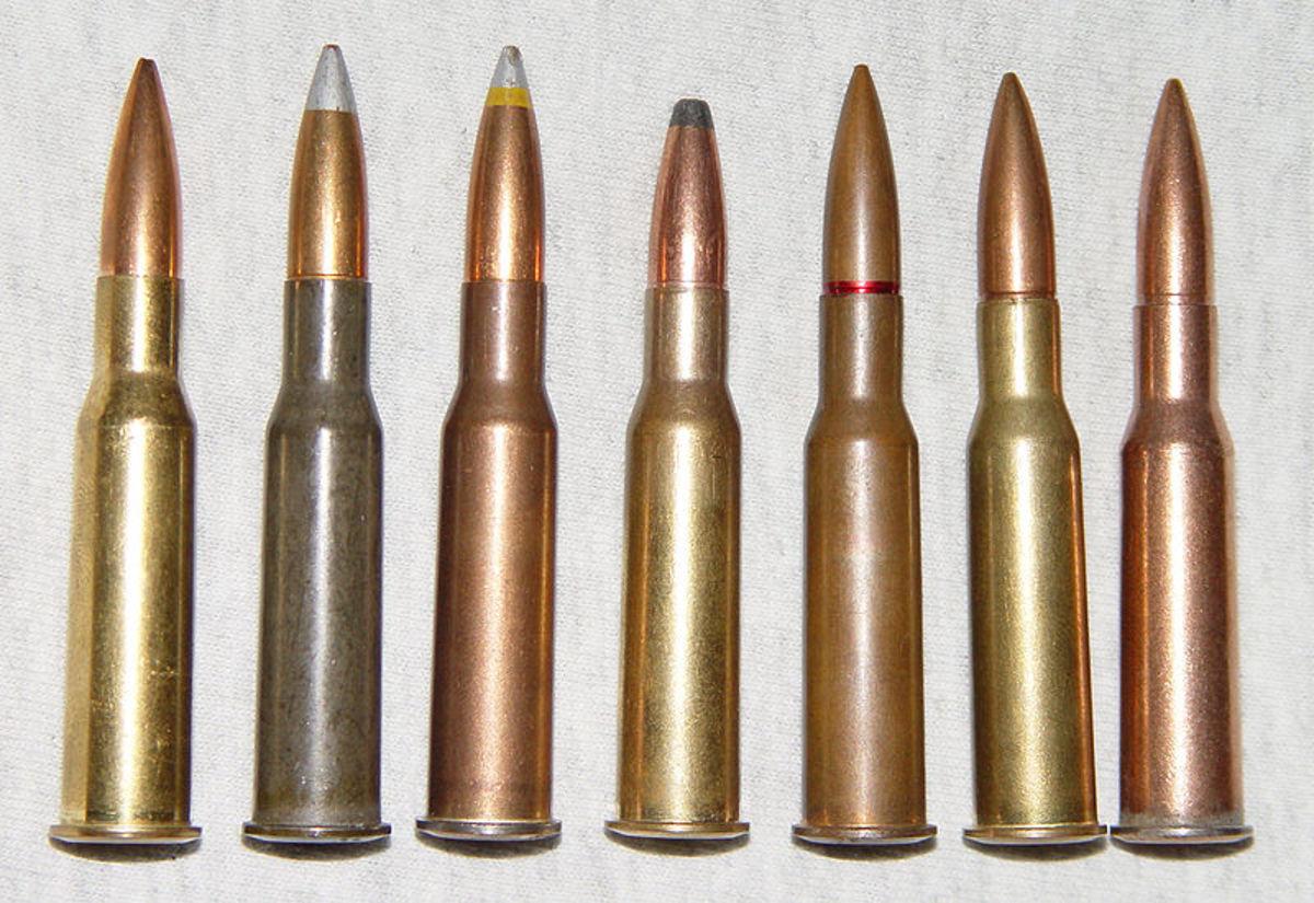7.62x54R ammunition.