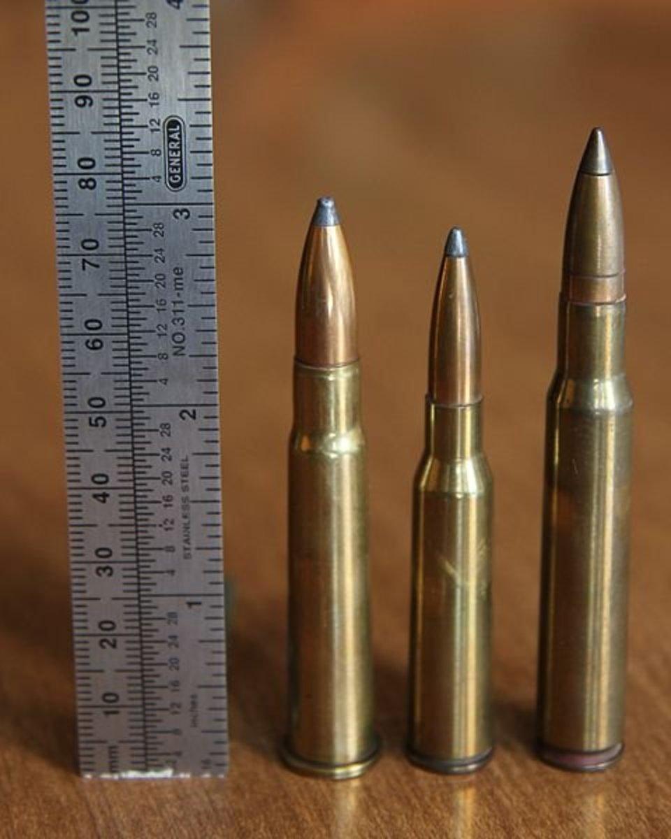 (L-R):  .303 British, 6.5x55 Japanese, .30-06