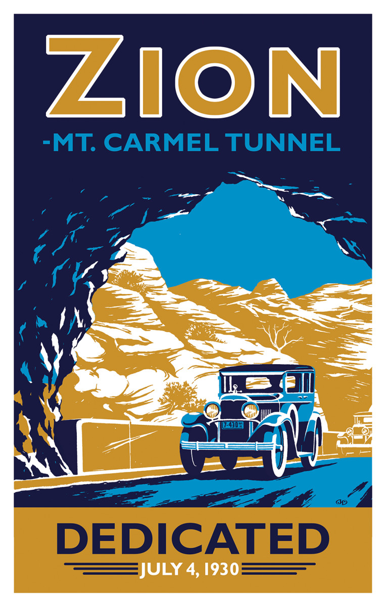 In this 2010 creation, John Clarke gives tribute to the 1930 opening of  Zion tunnel.