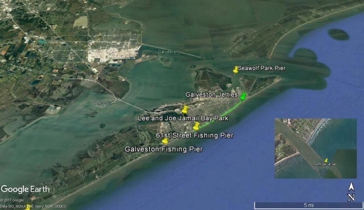 Fishing in galveston skyaboveus for Good fishing spots in galveston
