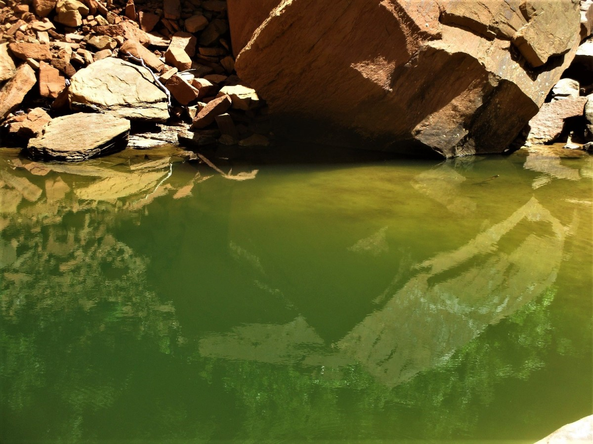 There are three emerald pools that hikers than reach with relative ease