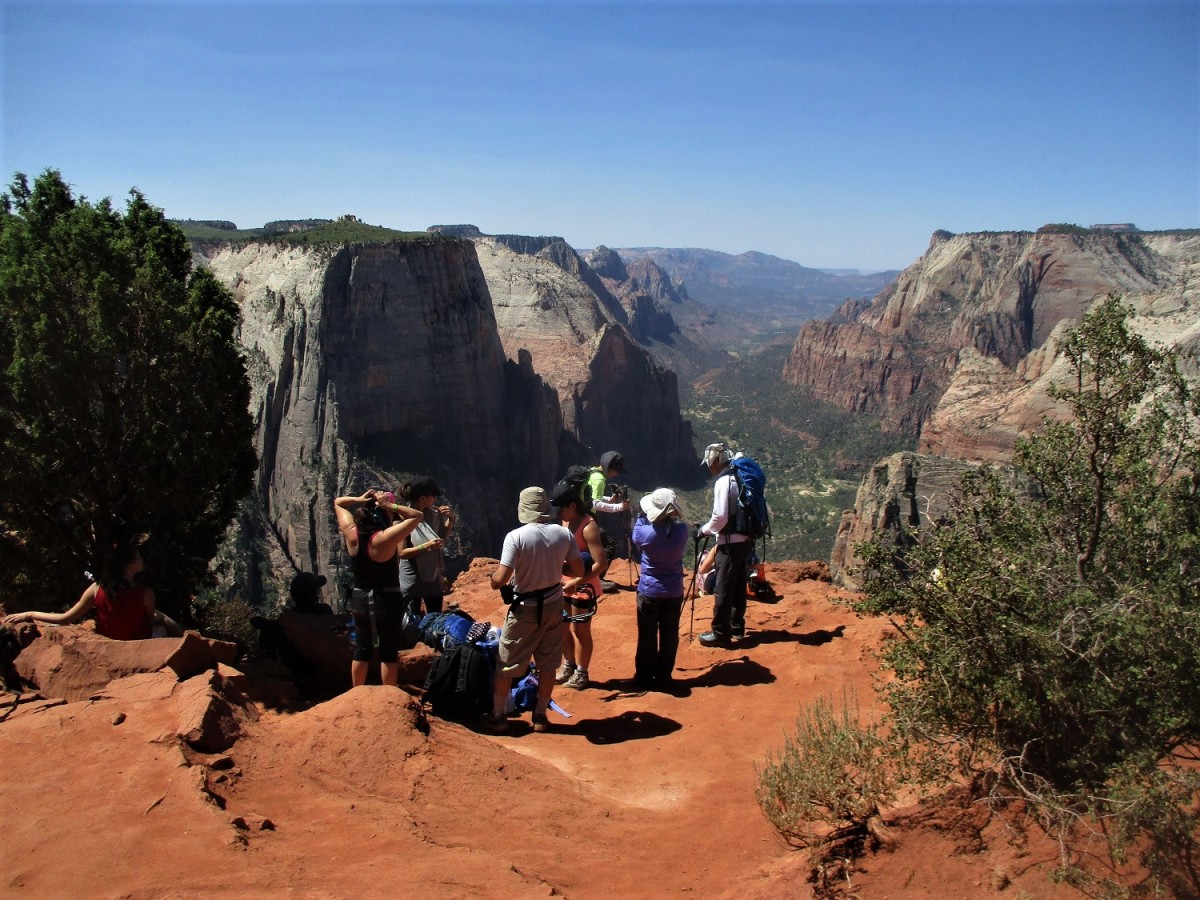 This East Rim observation point provides one of the best views in the park