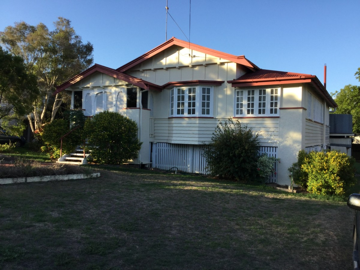 Our home in Lamb Street, Murgon