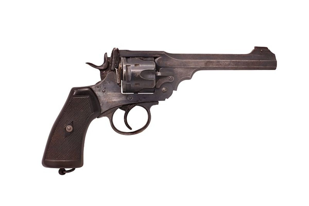 British soldiers carried the dependable, powerful Webley revolver for almost a century.