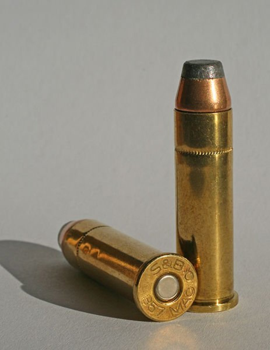 The .357 Magnum.  The first magnum handgun cartridge and still the most effective for self-defense.