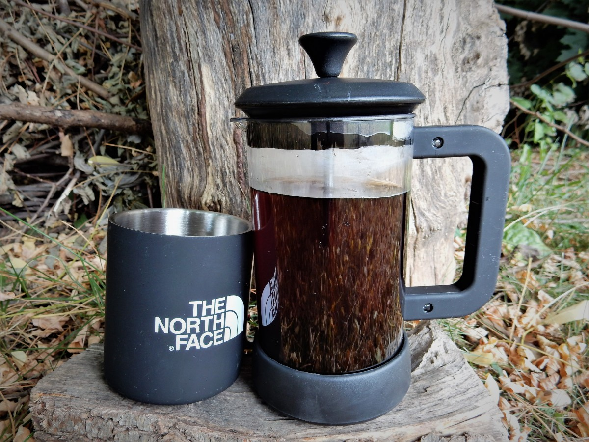 The GSI french press produces some of the best camp coffee you'll ever drink.