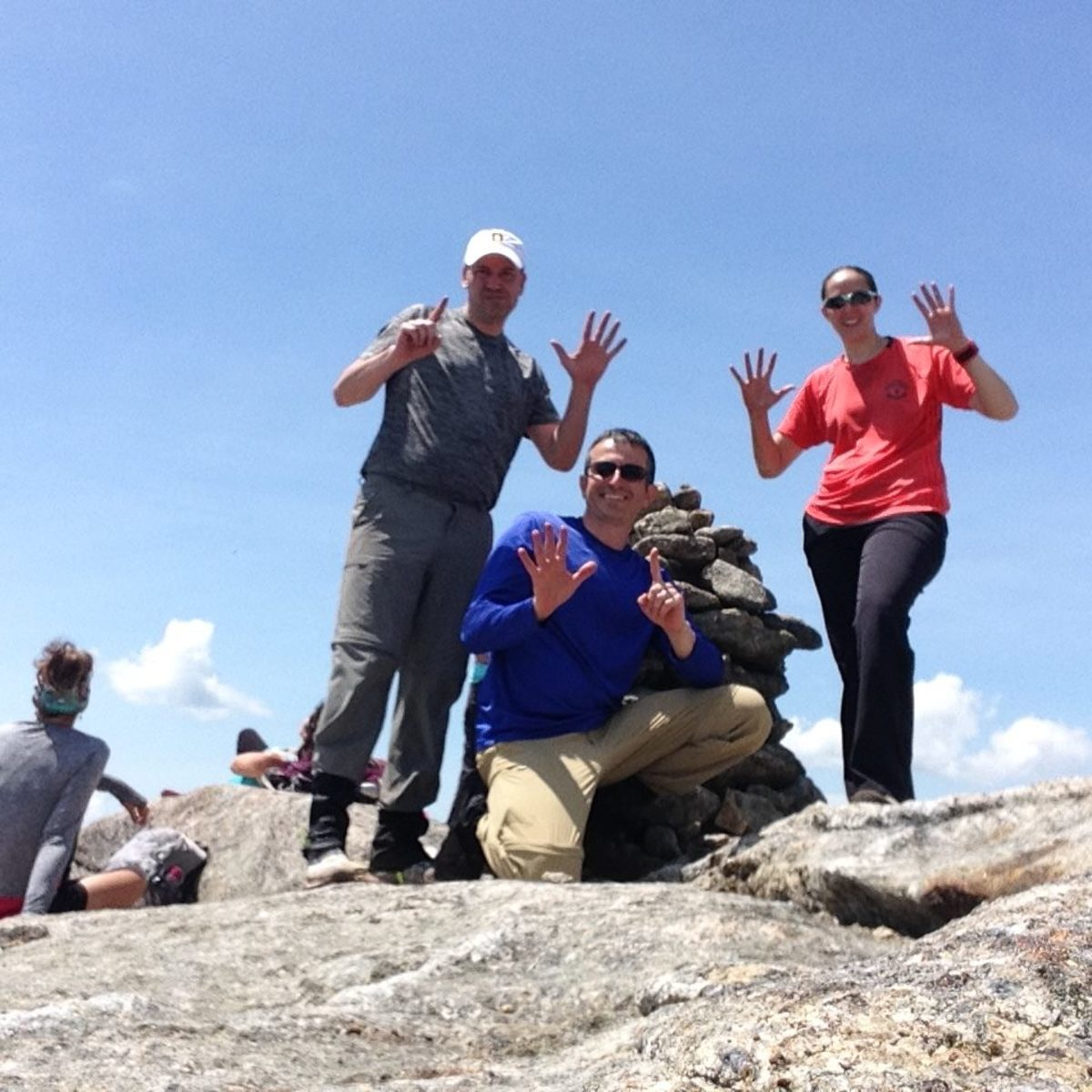 Rocky Peak Ridge Cairn Summit Marker