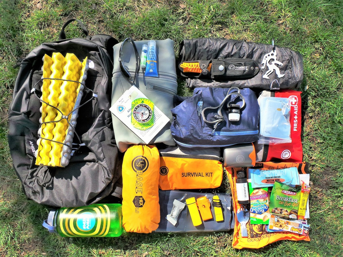 The essentials in my daypack enable me to meet most challenges I meet on the trail.