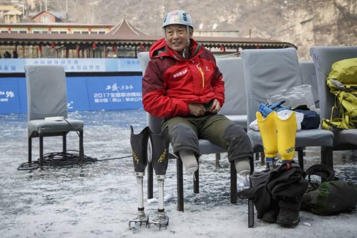 Xia Boyu at base camp