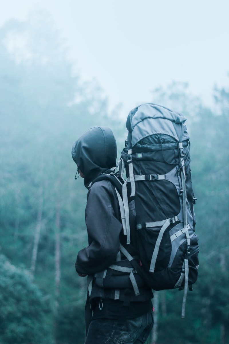 Backpacking Through The Mist