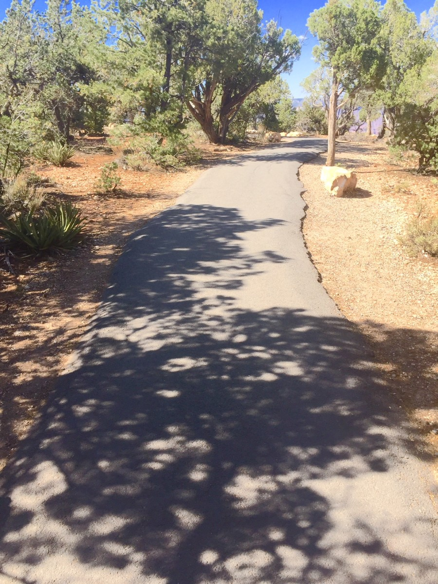The Paved Portion of the Trail