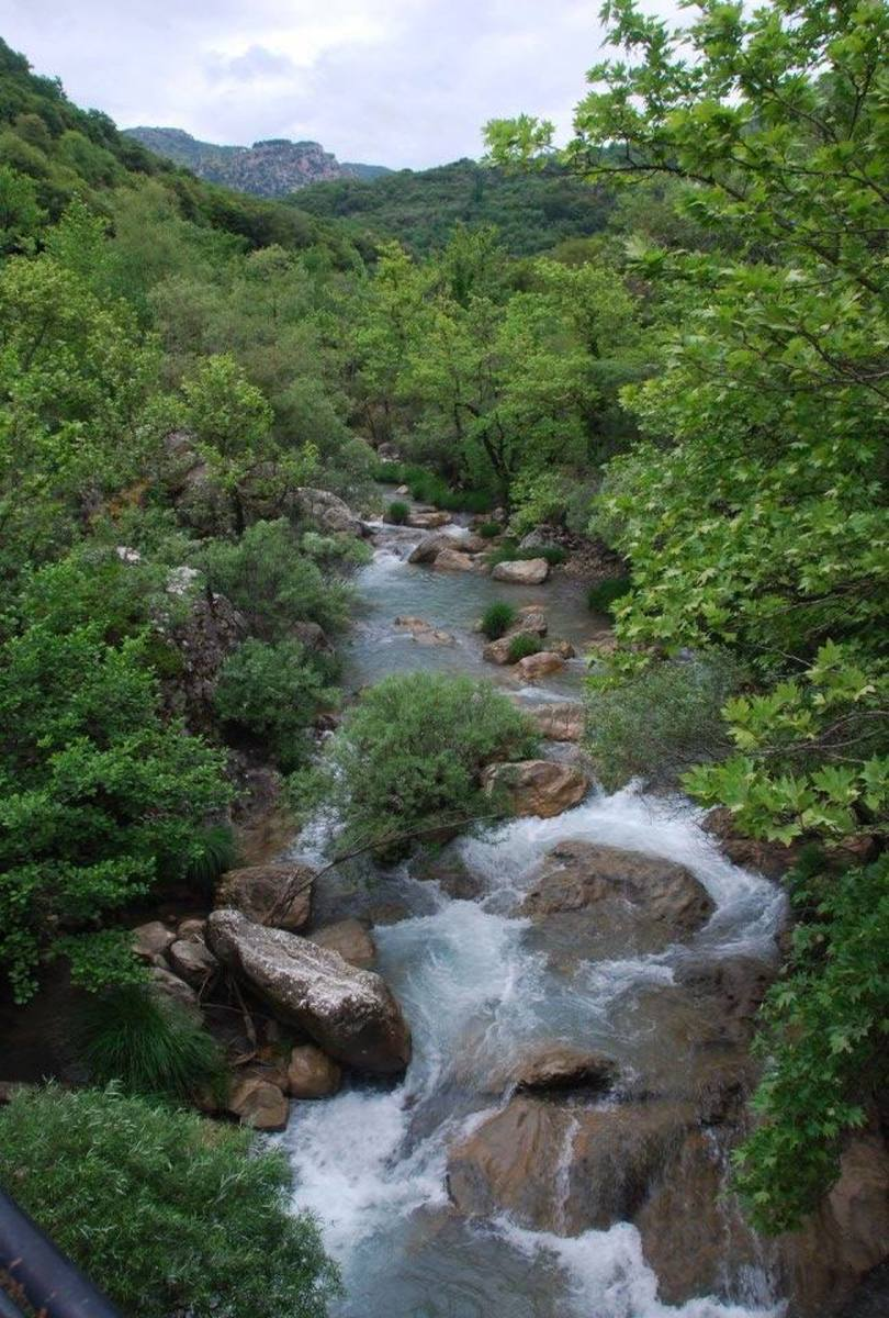 Lousios River...