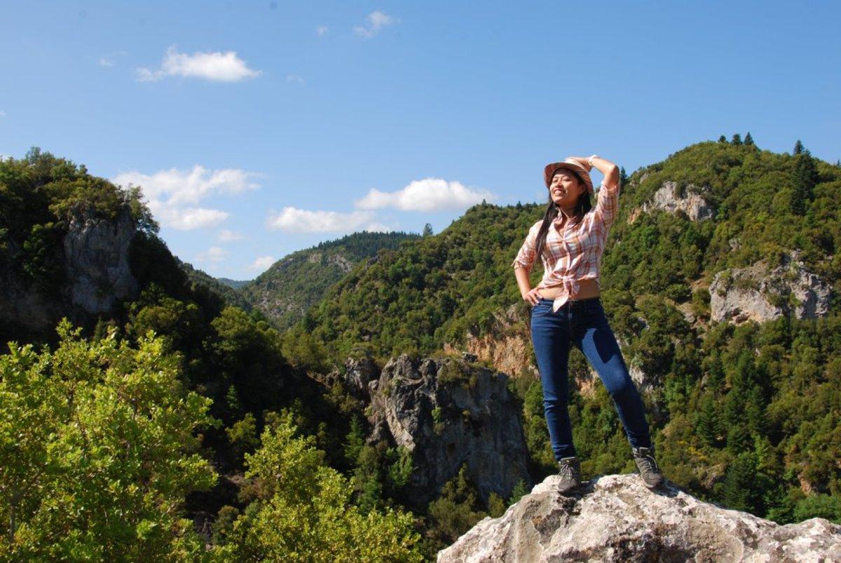 On top of the world...Vytina to Nymfasia