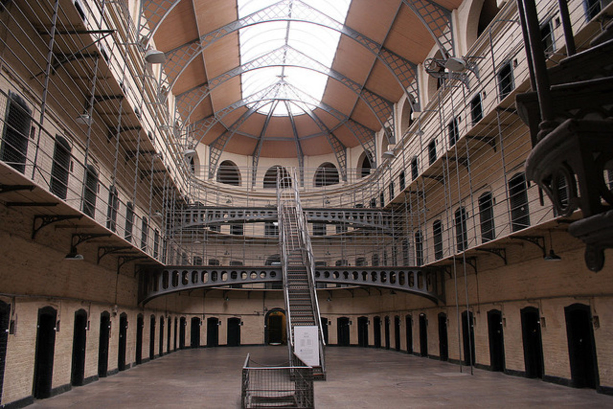 A Typical Prison in the US.