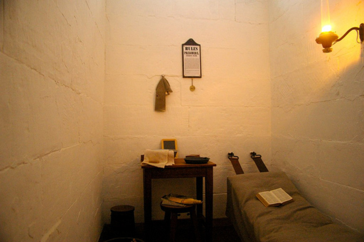 Average cell in a 'Supermax' prison